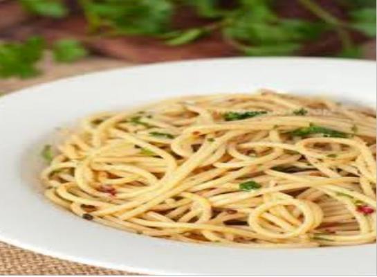 Spaghetti Aglioli