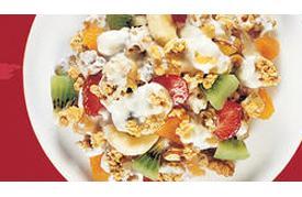 Good Eats home-made granola
