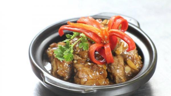 Braised Pork ribs with tamarind sauce