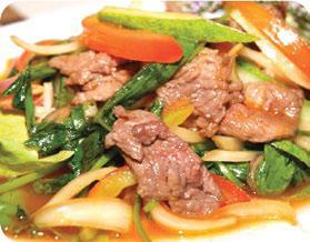 Yum nua yang (Spicy)