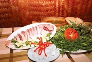 Thai style food hot-pot