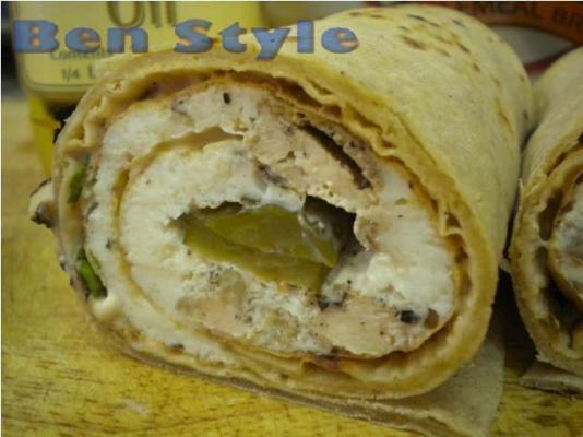 17 Chicken Egg White Wrap