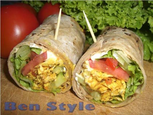 19 Shawarma Wrap