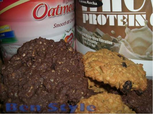 52 Oatmeal Protein Cookies