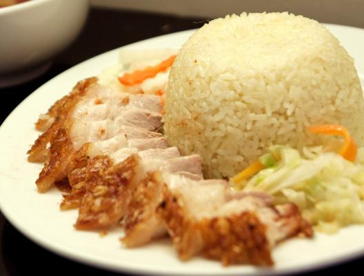 Roast Pork Rice