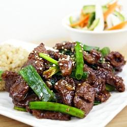E15. Mongolian Beef