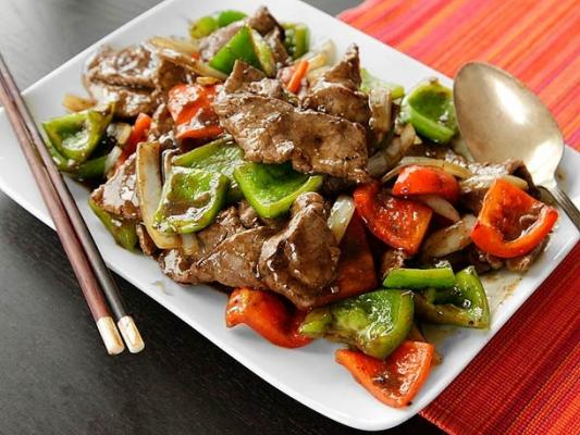 E16. Pepper Steak