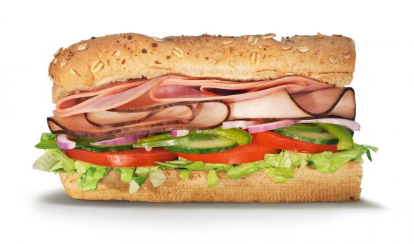 Sliced Chicken And Ham with Combo