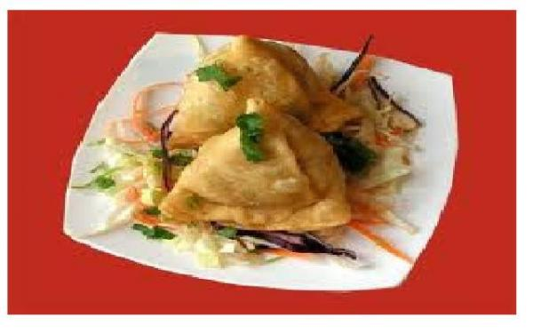 Vegetable samosa 2 pcs