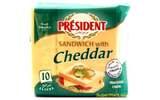 Président Sandwich With Cheddar (200g)