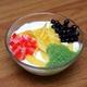 Jack-fruit with yoghurt