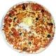 Pizza Merguez (Arabian sausage)