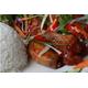 Chicken fried in fish sauce