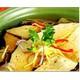 Steamed vegan mackerel with ginger
