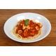 Seafood spaghetti in rich tomato sauce