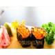 Salmon egg sushi