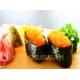 Sushi crab eggs