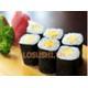 Rolls eggs sushi
