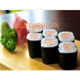Sausage rolls sushi