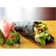 Funnel-shape salmon & avocado sushi