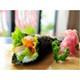 Tunnel-shape California sushi