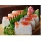Pressed shrimp sushi