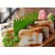 Pressed eel sushi