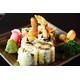 SU18 Sushi rolled with fried shrimp coated TEM powder