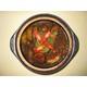 305. Aubergines in clay pot