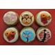 No.61 Box of 6 cupcakes as topic Tet Holiday