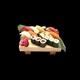 SET 10 sushi-moriawase-C (20 pieces )