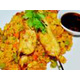 Thai fried rice & chicken skewer