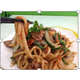 Fried Udon noodles with beef