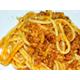 Beef stew sauce spaghetti