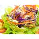 Vinegar sauce salad