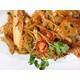 Stir fried noodles with Kimchi