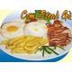 Chicken steak rice