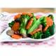 Stir-fried cauliflower with vegan beef