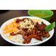 Grilled pork & pigskin, noodle.