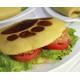 Deep fried fish bear paw burger