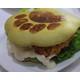 Deep fried chicken bear paw burger