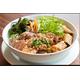 Grilled spring roll, Fried spring roll & pigskin, noodle.