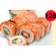 Smoked salmon kani firai