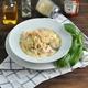 Creamy Fettucini Seafood
