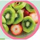 Kiwi - strawberry