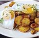 Egg with roast potatoes
