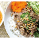 Stir-fried beef with vermicelli