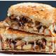 Sauteed mushroom - onion sandwich