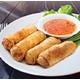 Fried vegetable spring rolls