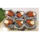 Tuna / salmon and cheese roll
